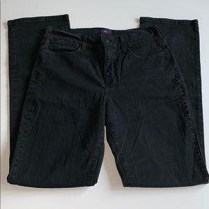 NYDJ! Black Straight Leg Jeans!
